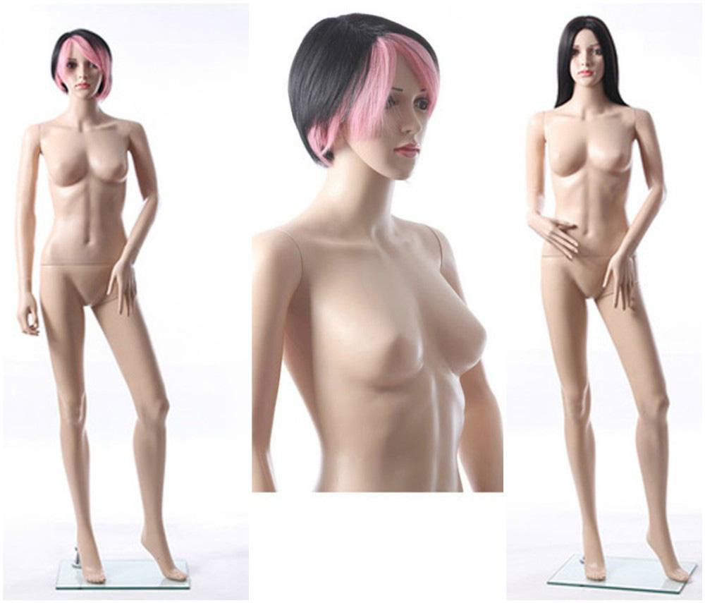 ZM-1913 - Nova - Realistic Slim Plastic Female Mannequin