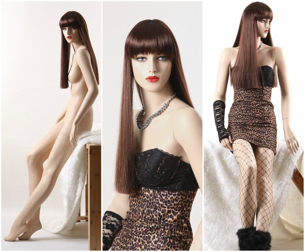 ZM-2001 - Valerie - Sexy Attractive Slim Fiberglass Female Mannequin