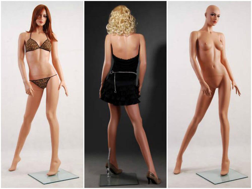 ZM-2009 - Lauren - Sexy Female Fiberglass Mannequin