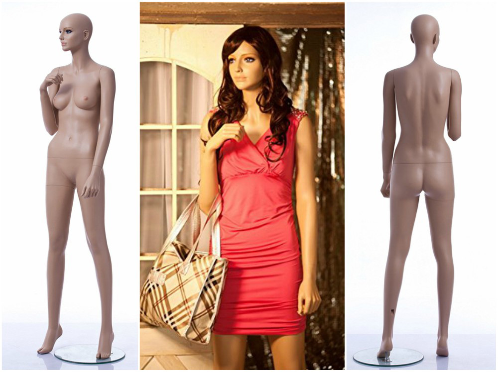 ZM-2013 - Sydney - Realistic Fiberglass Female Mannequin