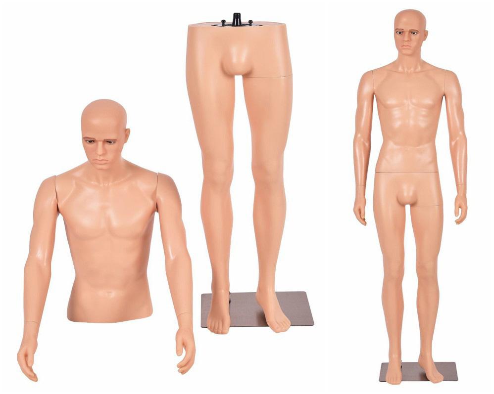 ZM-204 - Daniel - Simple Detachable Male Mannequin