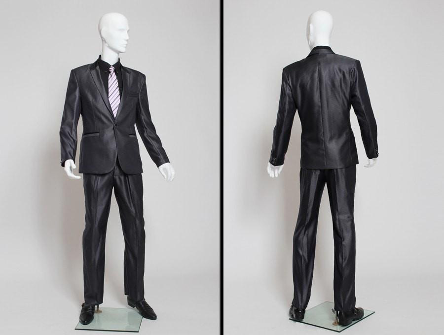 ZM-209 - Alexander - Abstract White Elegant Male Mannequin