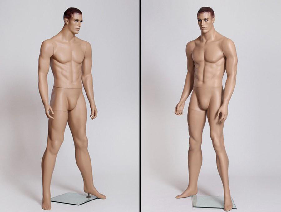 ZM-210 - James - Supple Realistic Male Mannequin