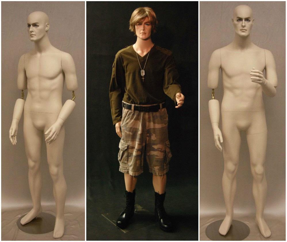 ZM-215 - Noah - Flexible Hands Realistic Male Mannequin