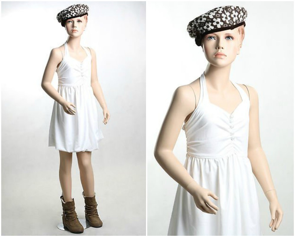 ZM-2301 - Remy - Cute Realistic Child Mannequin