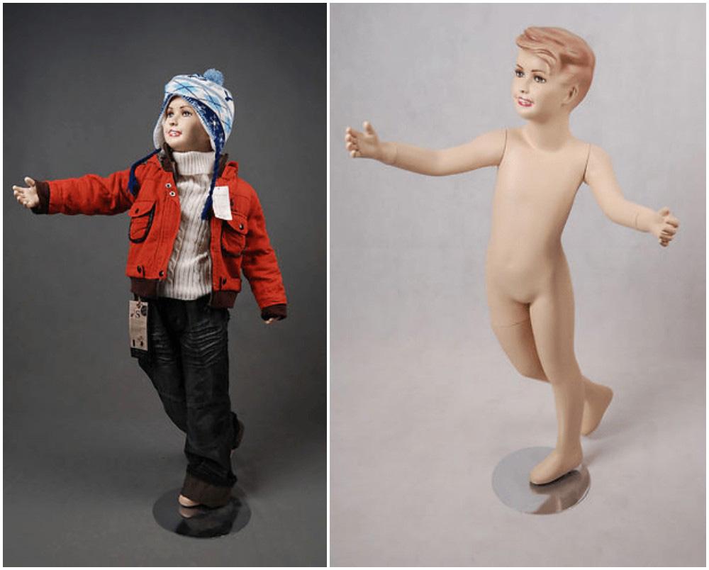 ZM-2302 - Myles - Posing Realistic Child Mannequin