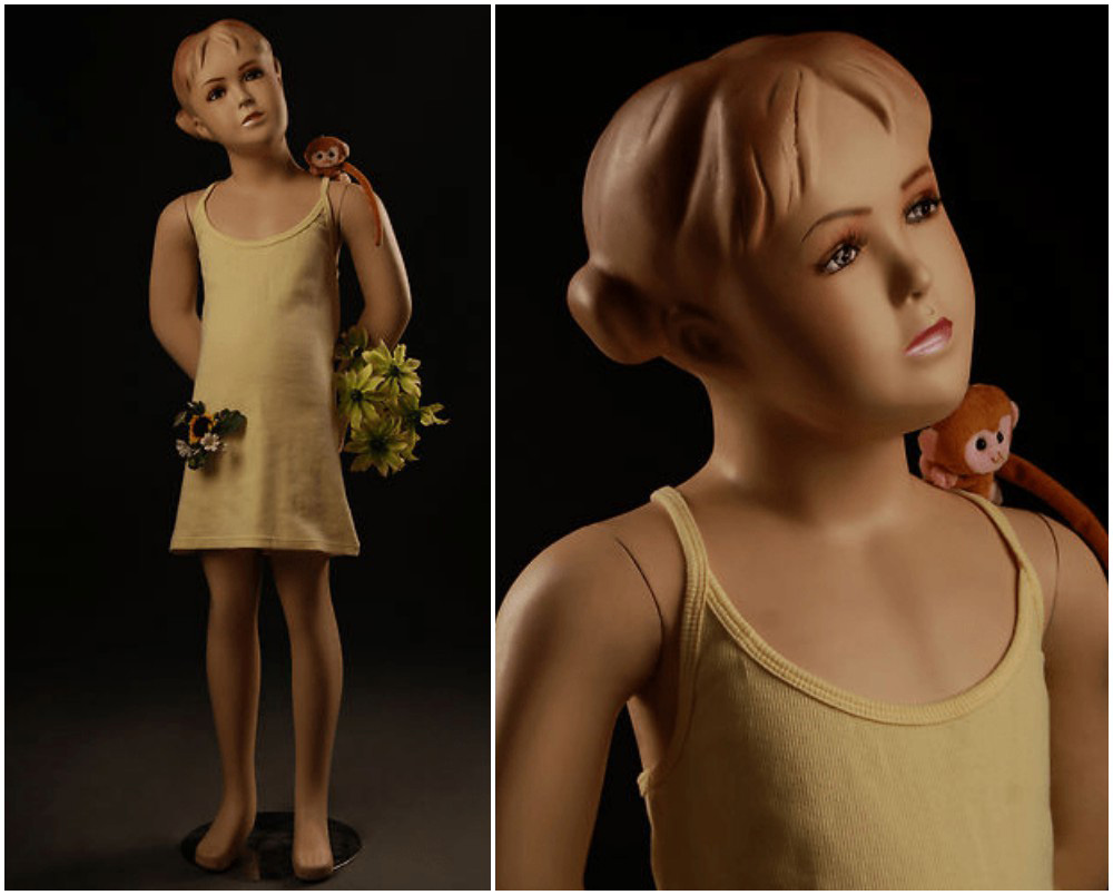 ZM-2308 - Bella - Realistic Child Girl Mannequin