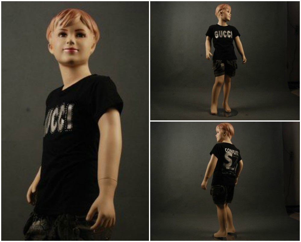 ZM-2309 - Beau - Smiling Realistic Child Mannequin