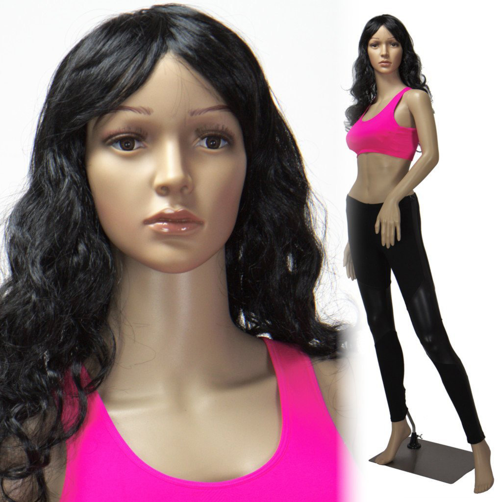 ZM-2402 - Evelyn - Simple Realistic Full Body Display Mannequin