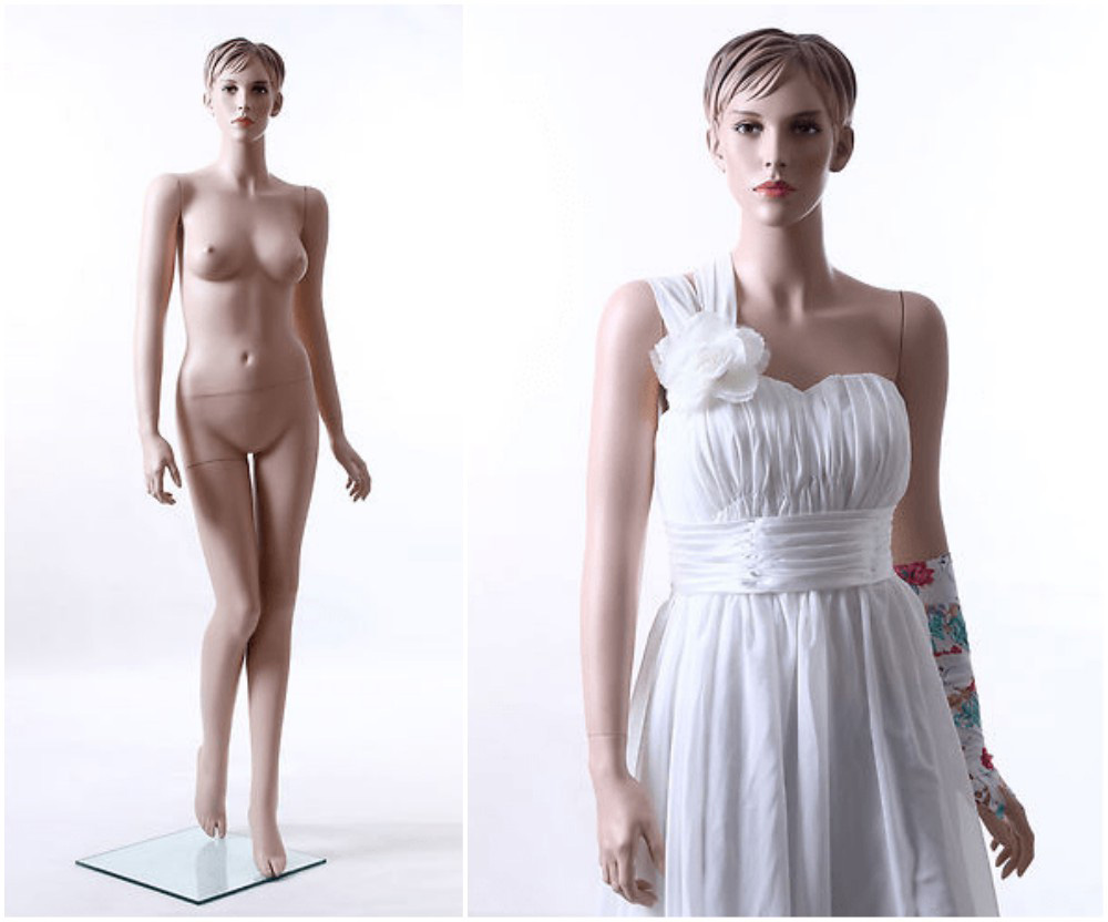 ZM-2407 - Zoey - Bridal Female Realistic Display Mannequin