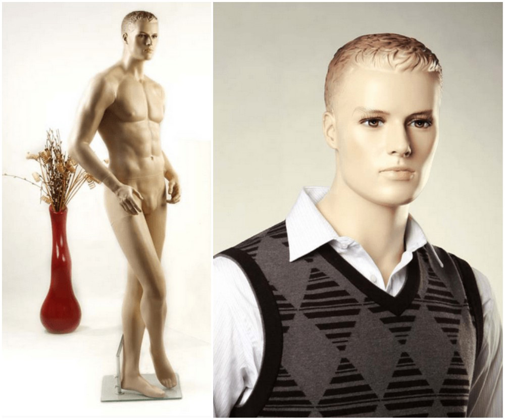 ZM-2408 - Oliver - Posing Male Realistic Display Mannequin