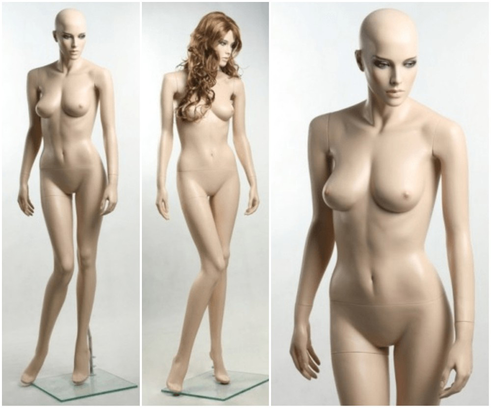 ZM-2411 - Isabella - Voluptuous Realistic Female Display Mannequin