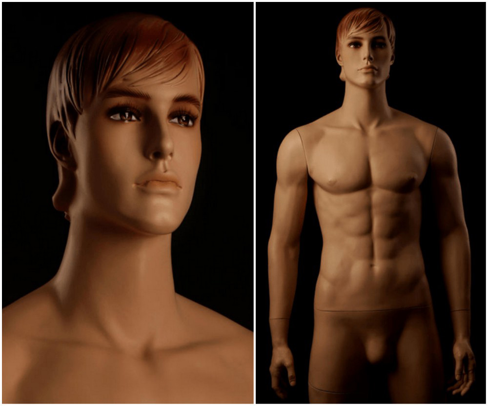 ZM-2412 - Jacob - Realistic Tall Male Display Mannequin