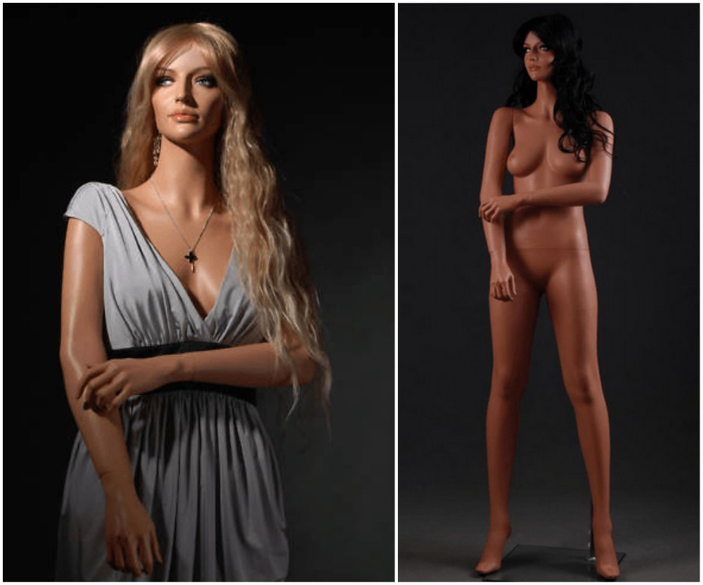 ZM-2414 - Olivia - Supple Realistic Tall Female Display Mannequin