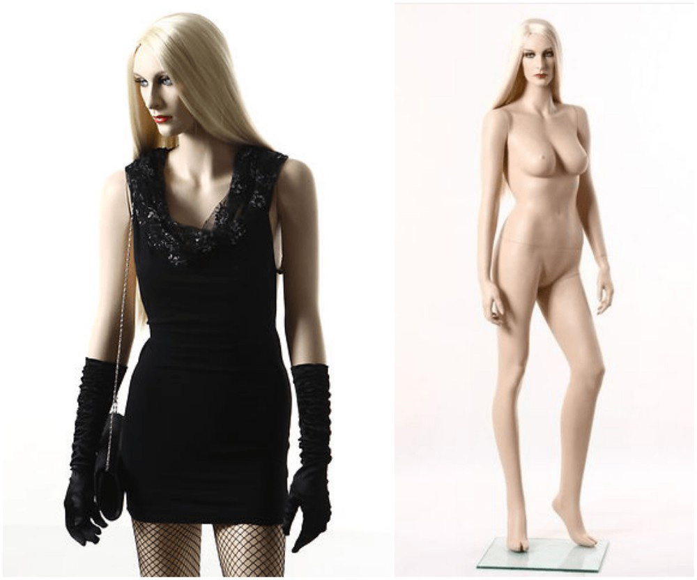 ZM-2415 - Emma - Sexy Realistic Slim Female Mannequin