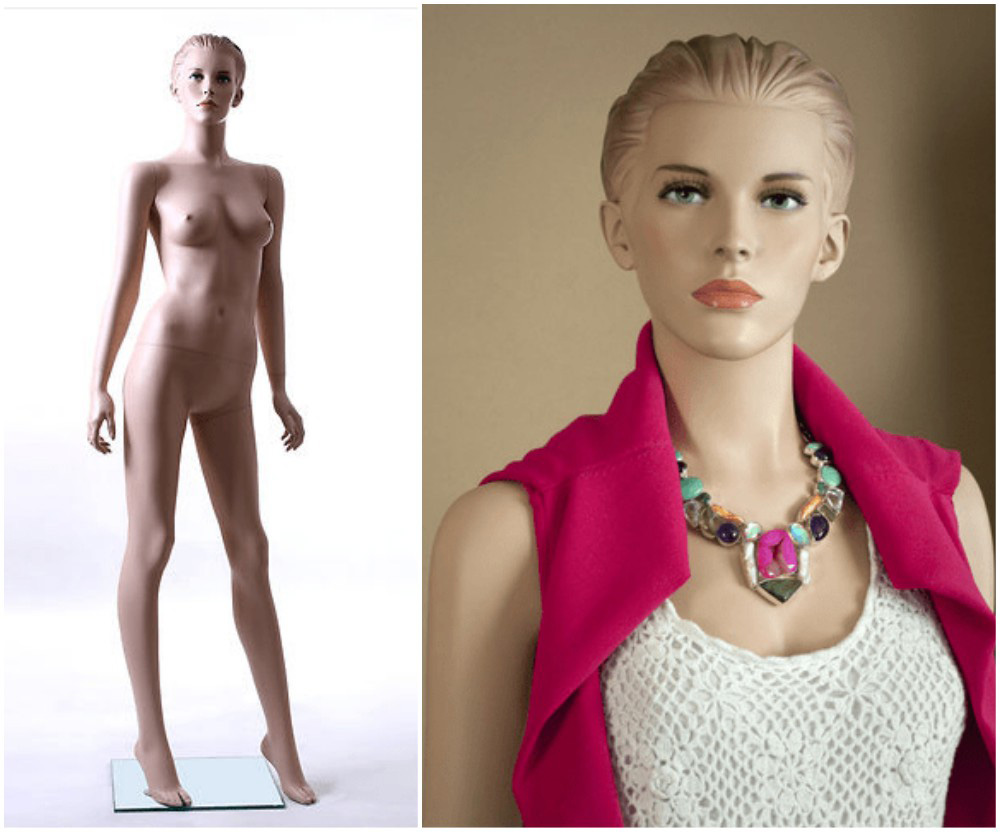 ZM-2605 - Harper - Beautiful Female Realistic Retail Mannequin