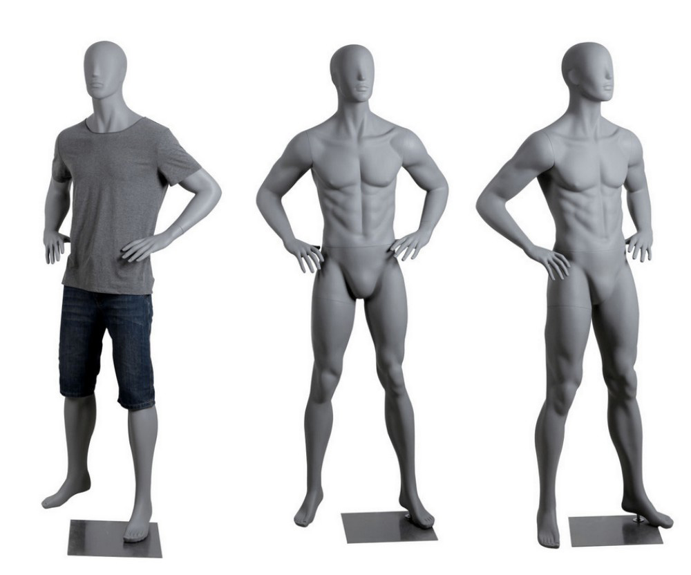 ZM-2607 - David - Muscular Tall Male Shop Mannequin