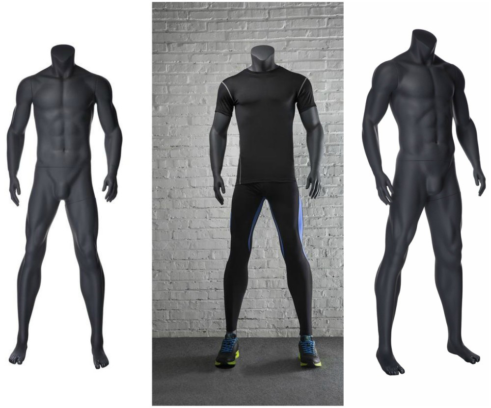 ZM-2610 - Jaxon - Muscular Athletic Male Shop Mannequin