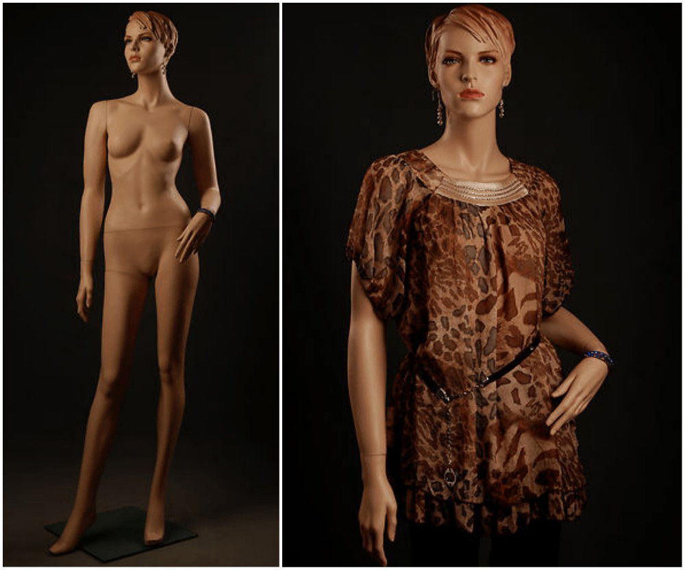 ZM-2614 - Aria - Beautiful Realistic Female Shop Mannequin