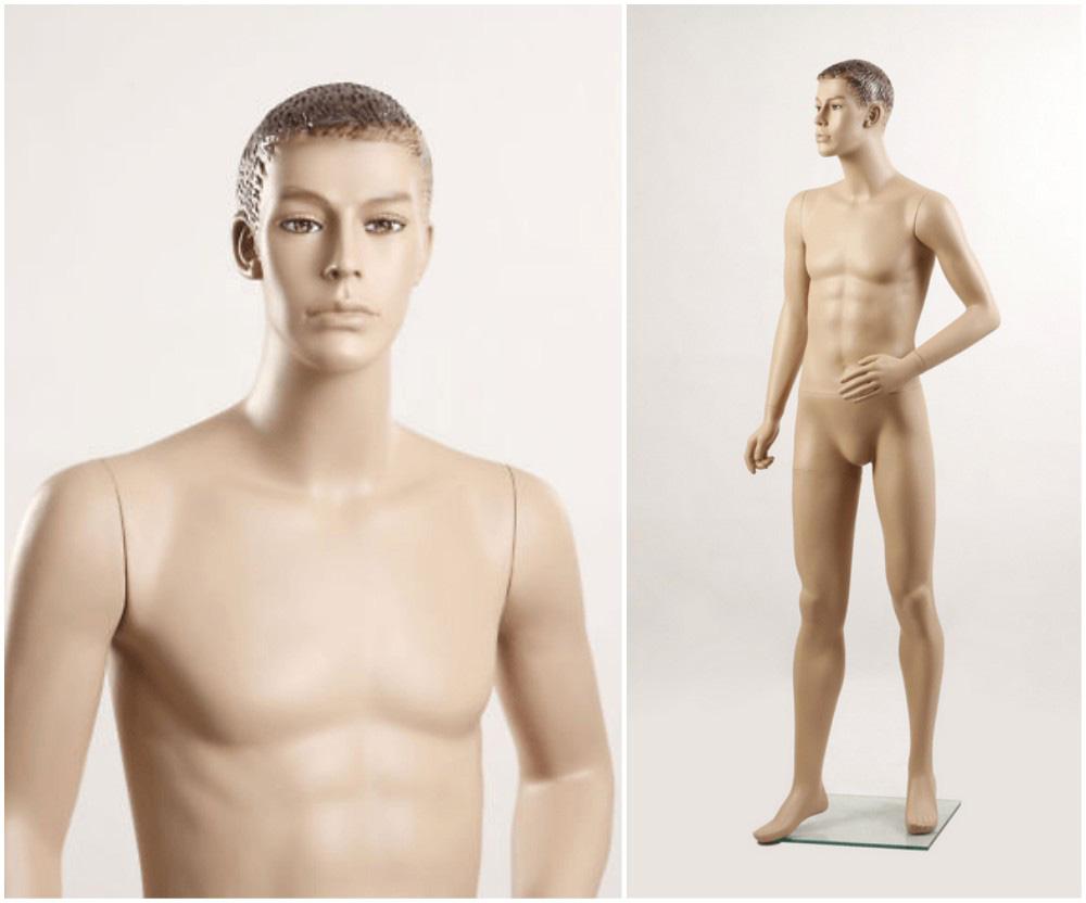 ZM-2615 - Benjamin - Realistic Male Shop Mannequin