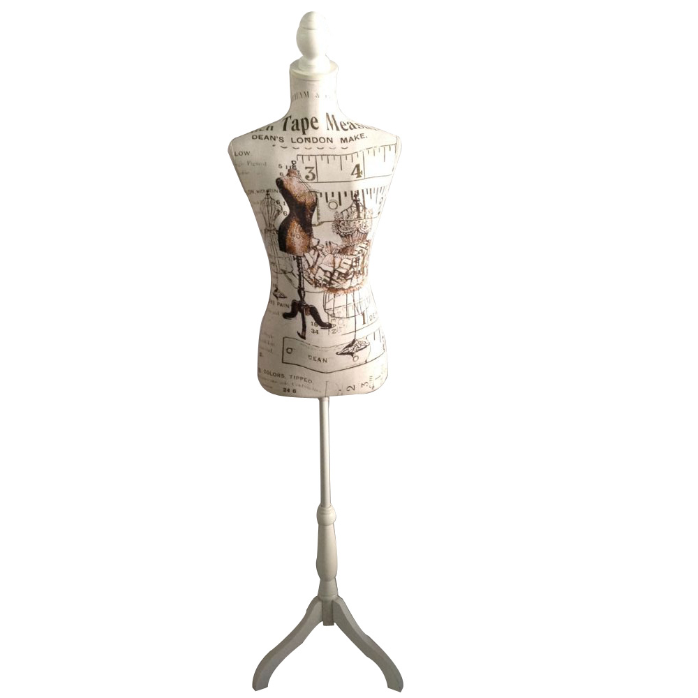 ZM-2711 - Vivian - London Themed Modern Bedroom Dress Form Mannequin