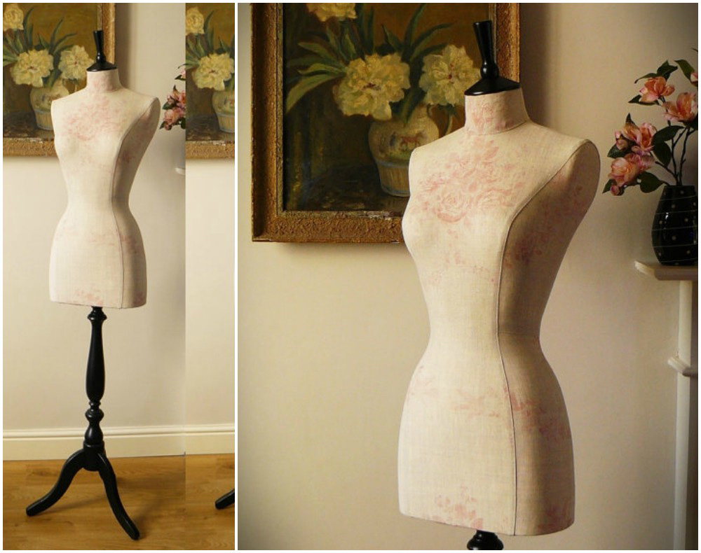 ZM-2714 - Cora - Beautiful Minimalist Beige Bedroom Dress Form Mannequin