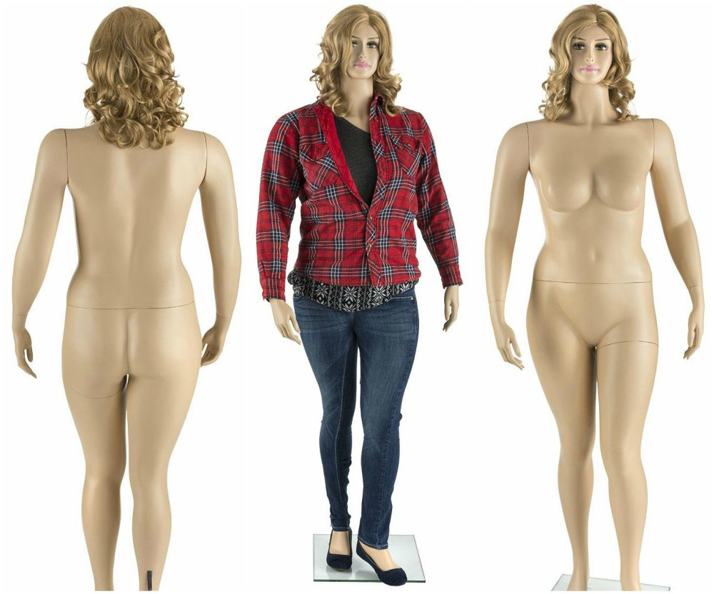 ZM-2802 - Mary - Realistic Large Female Mannequin