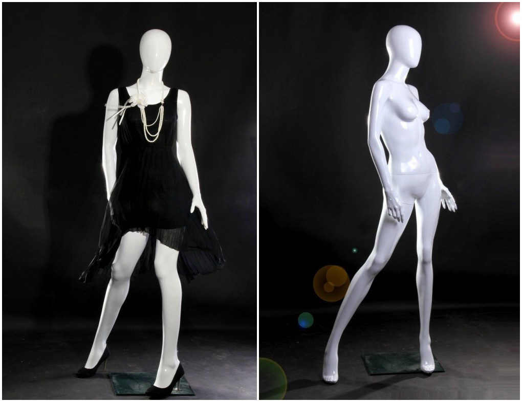 ZM-409 - Stella - Elegant Posing Female Abstract Mannequin