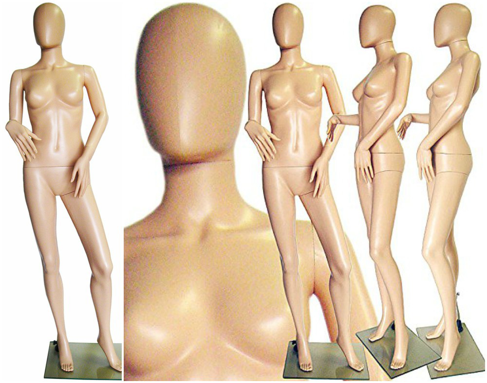 ZM-412 - Natalie - Tan Abstract Posing Mannequin