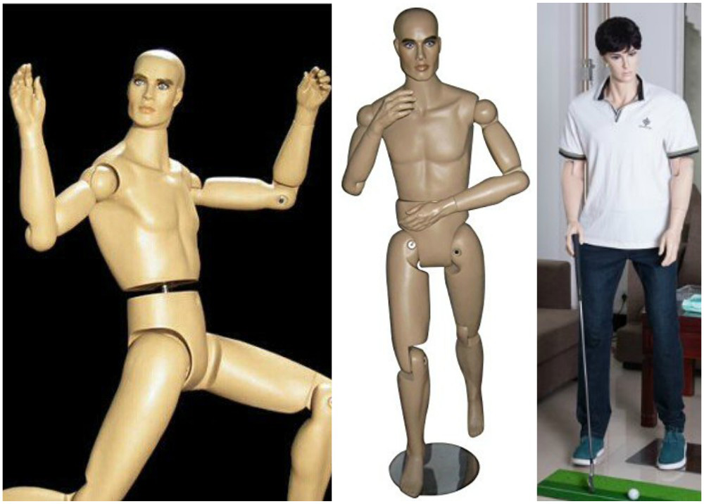 ZM-603 - Clark - Fully Flexible Realistic Male Mannequin