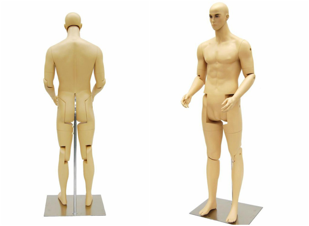 ZM-605 - Roger - Fully Poseable Muscular Realistic Male Mannequin