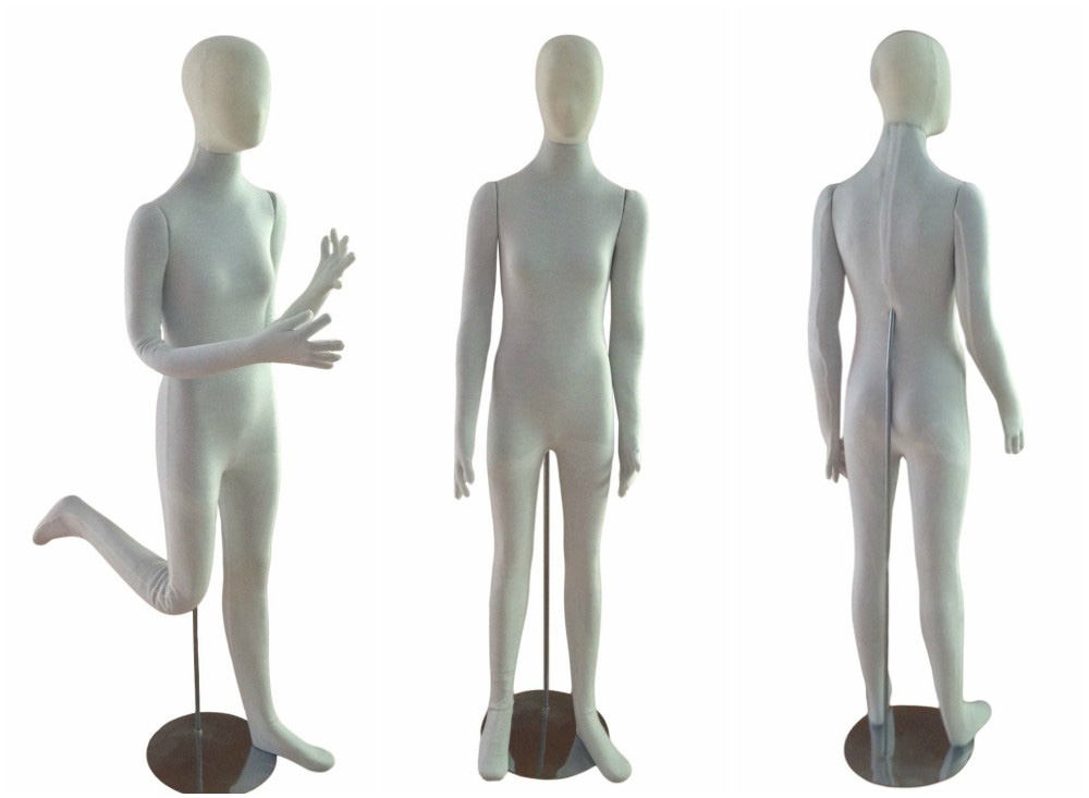 ZM-606 - Mackenzie - Fully Flexible Poseable Abstract Mannequin