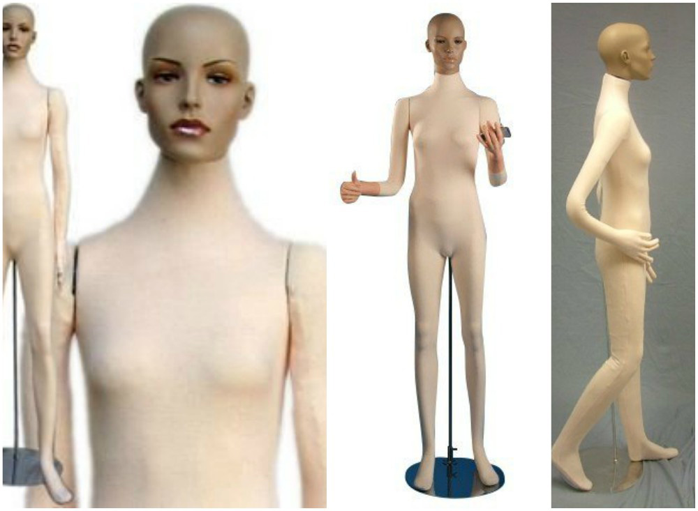 ZM-607 - Bella - Fully Flexible Realistic Female Mannequin
