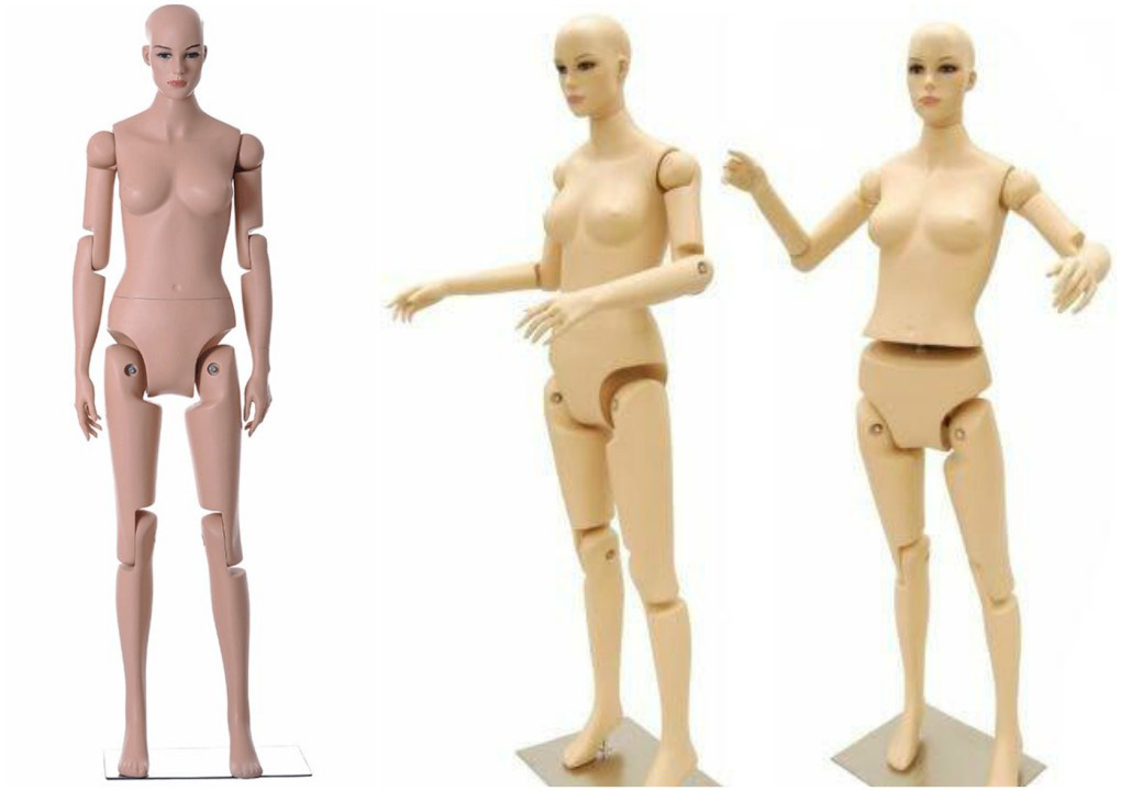 ZM-609 - Sarah - Fully Flexible Poseable Female Mannequin