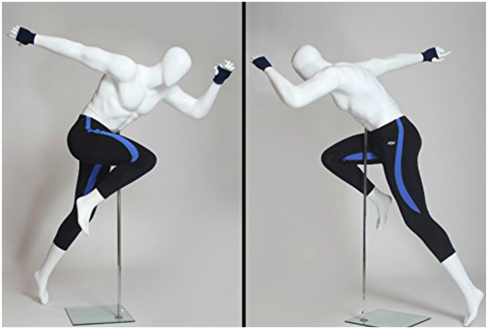 ZM-702 - Blake - Muscular Sports Male Mannequin