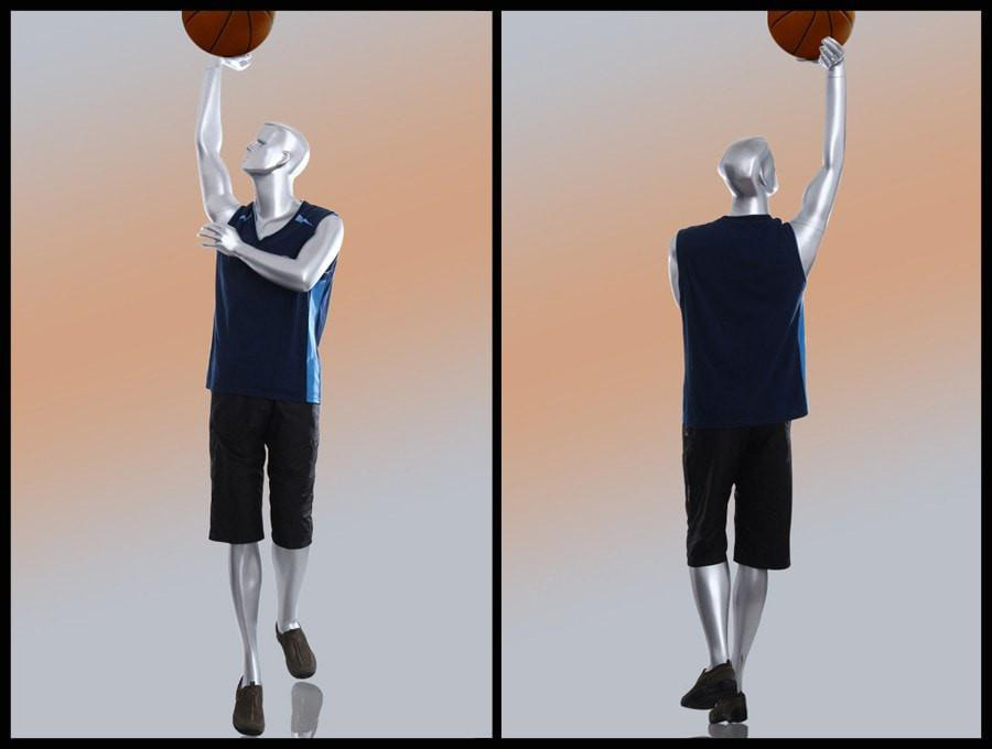 ZM-705 - Vincent - Athletic Male Basketball Sports Mannequin