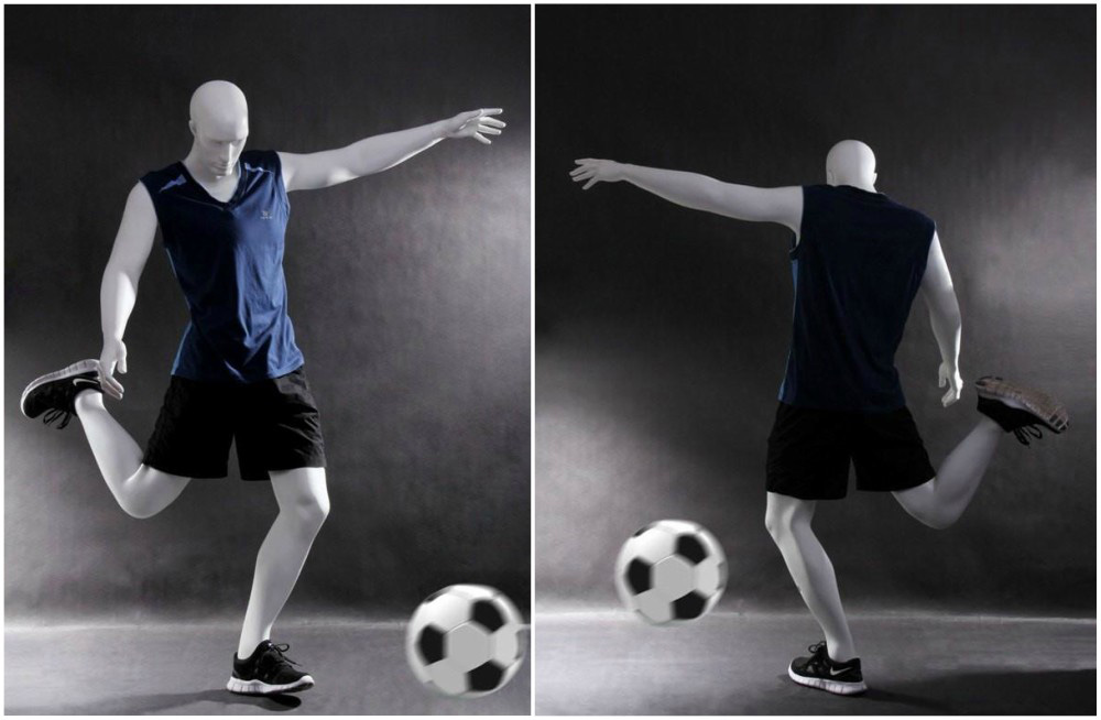 ZM-709 - Todd - Athletic Male Soccer Sports Mannequin