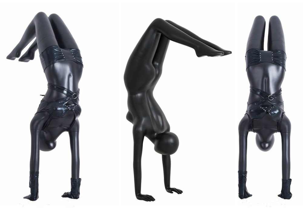 ZM-715 - Nora - Creative Abstract Female Yoga Mannequin