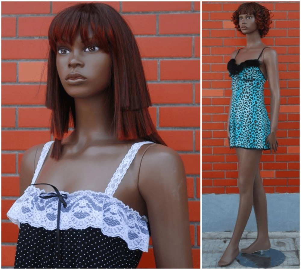 ZM-1015 - Lilah - African-American Realistic Female Mannequin