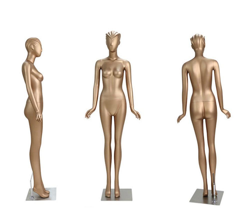 ZM-1310 - Emmy Elegant Supple Gold Female Mannequin