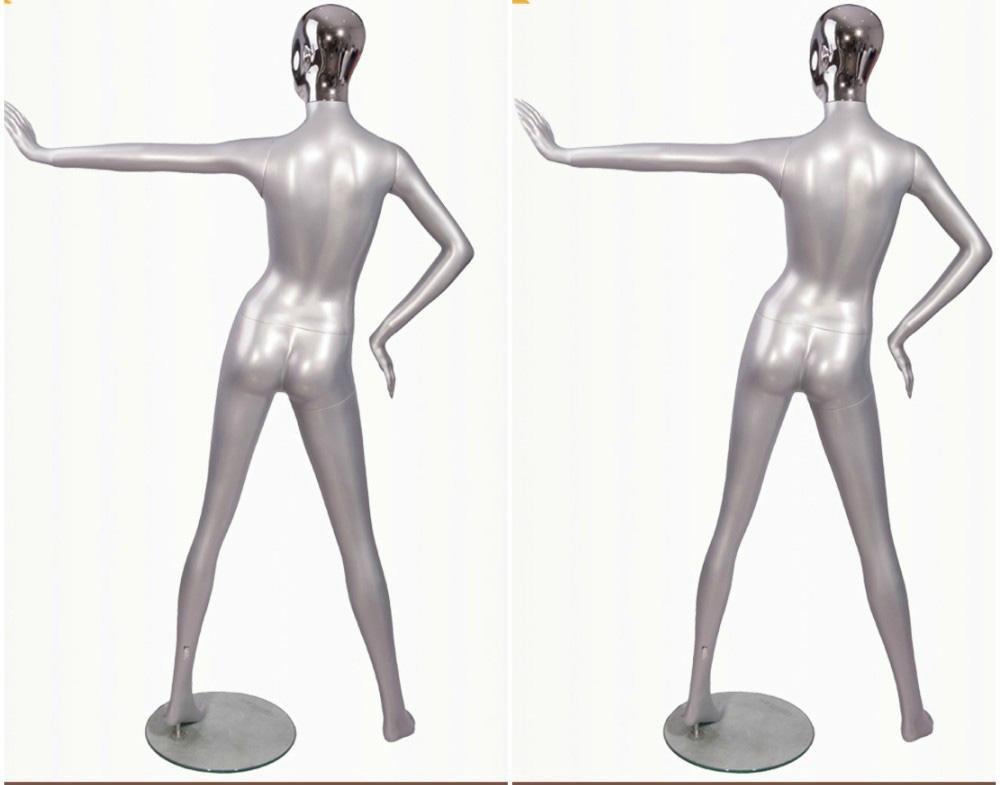 ZM-1509 - Naya - Creative Silver Female Mannequin