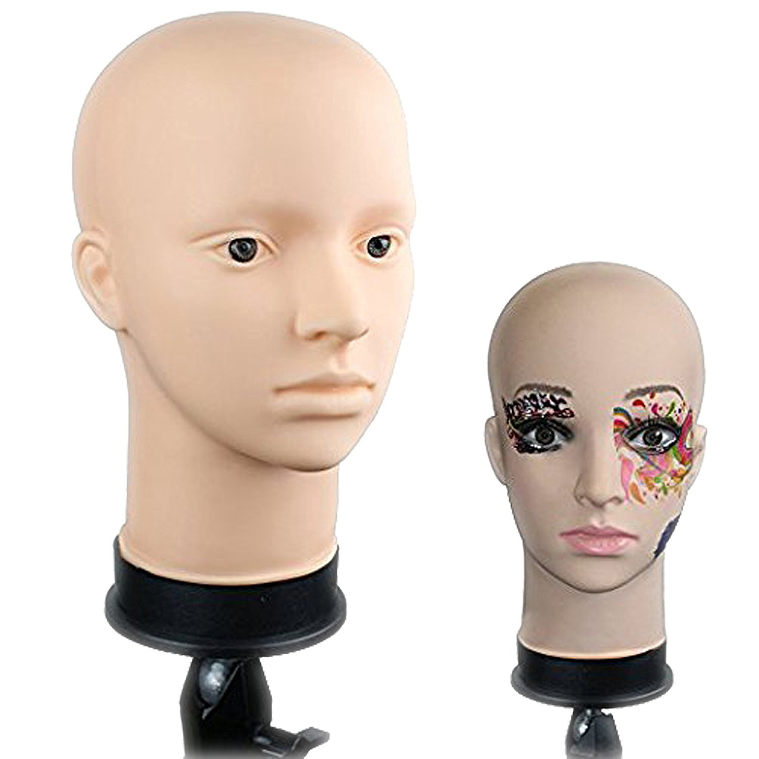 ZM-1704 - Thomas - Simple Male Silicone Mannequin Head