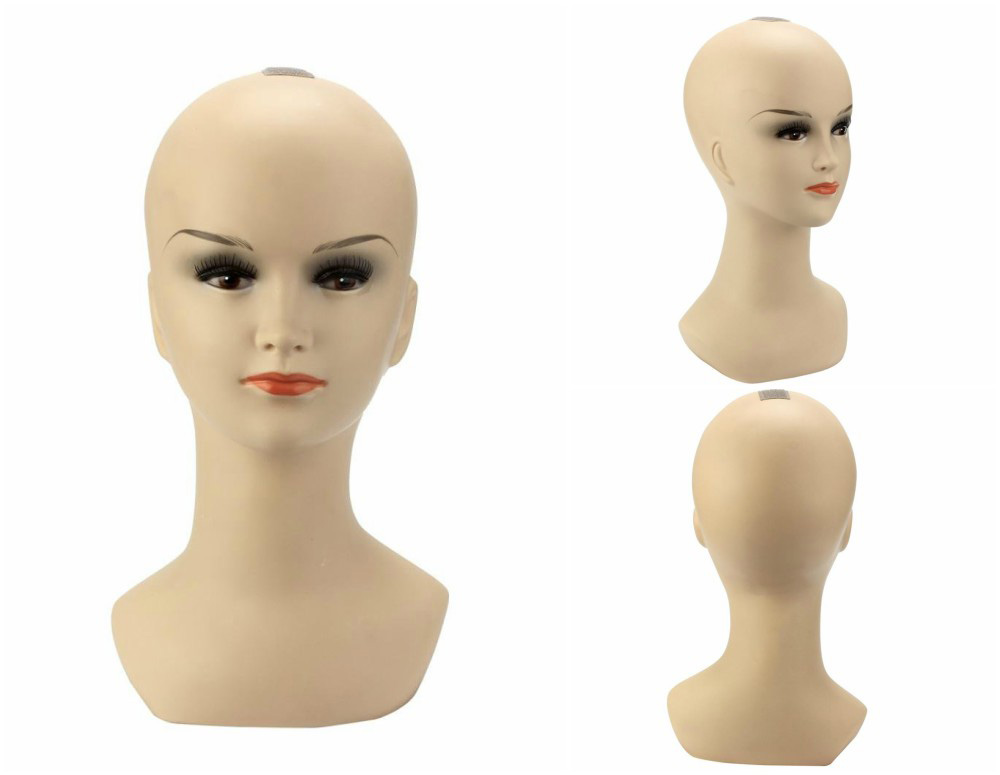 ZM-1714 - Gianna - Realistic Silicone Mannequin Head