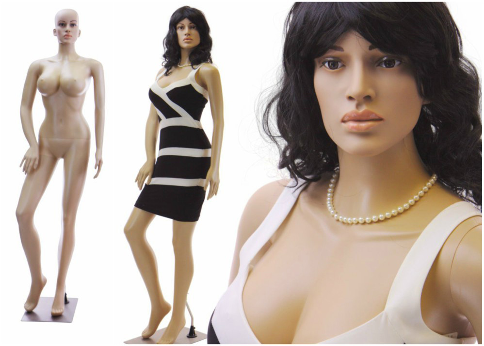 ZM-2102 - Micah - Beautiful Realistic Female Full Body Adult Mannequin