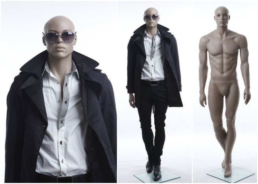 ZM-2103 - Elliot - Realistic Flesh Tone Male Adult Mannequin