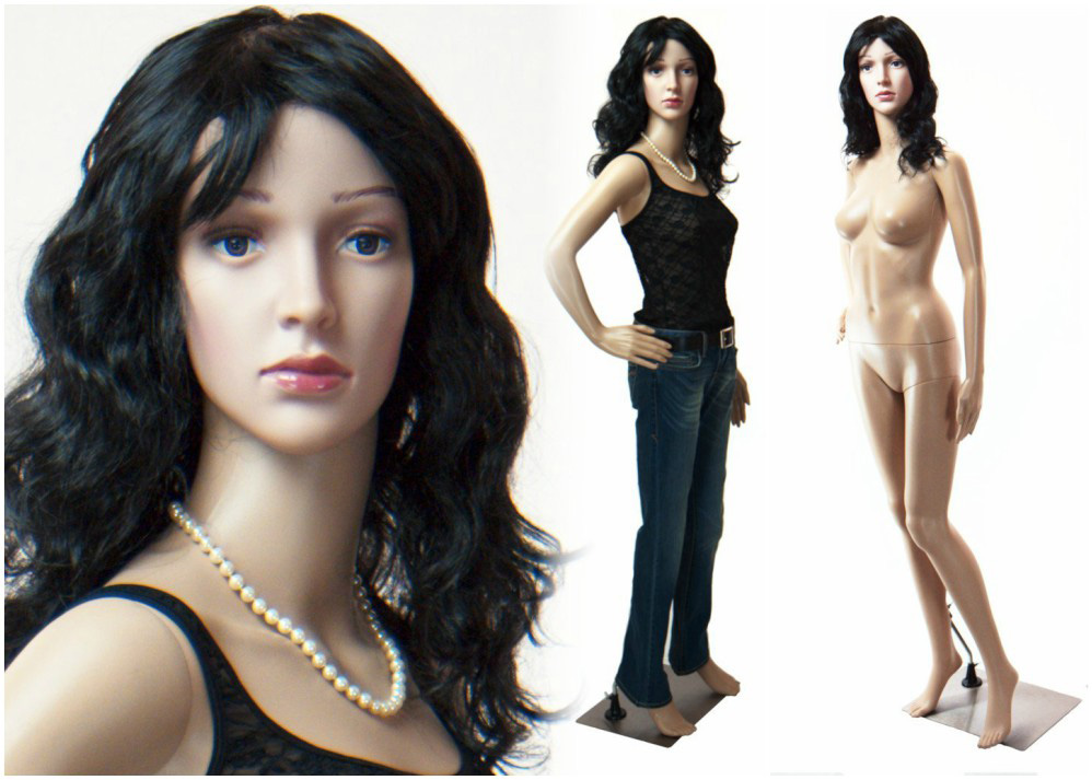 ZM-2106 - Lizbeth - Realistic Flesh Tone Female Adult Mannequin