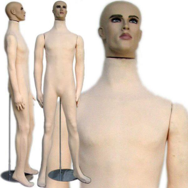 ZM-2113 - Paul - Fully Flexible Male Adult Mannequin