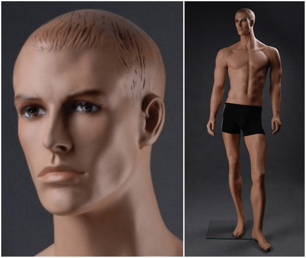 ZM-2114 - Aidan - Realistic Muscular Male Adult Mannequin