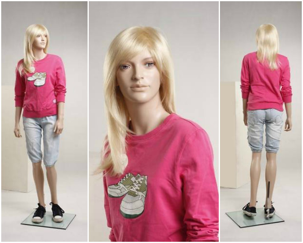 ZM-2201 - Rivka - Cute Teen Girl Realistic Mannequin