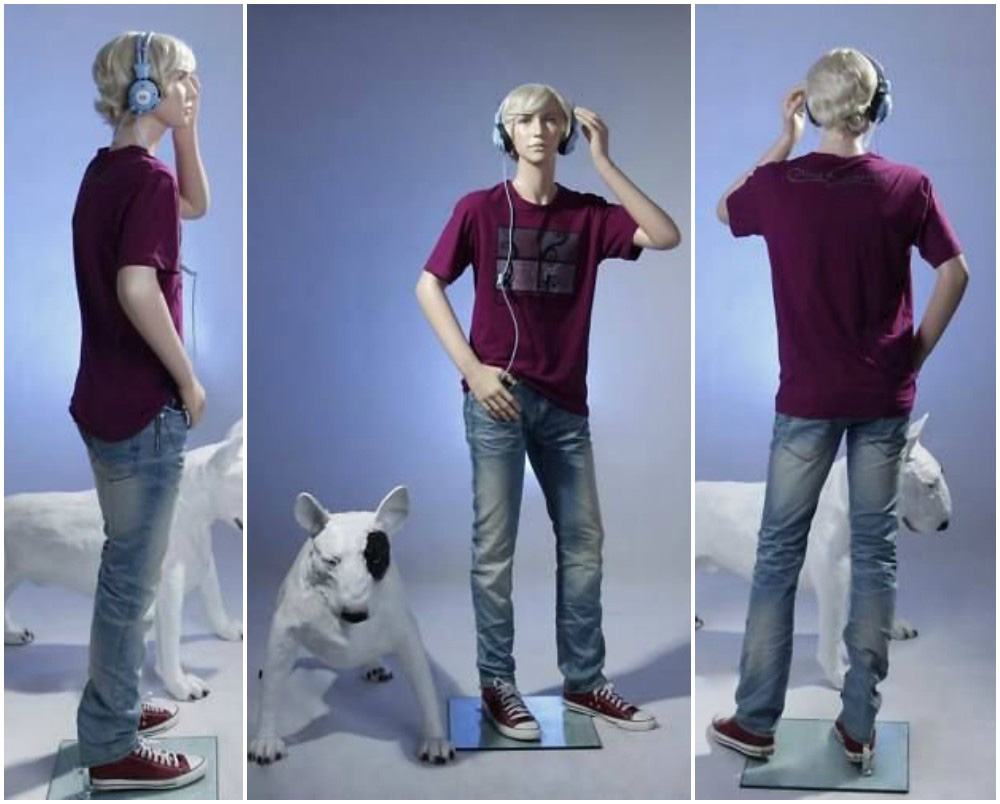 ZM-2203 - Chance - Realistic Teen Boy Mannequin
